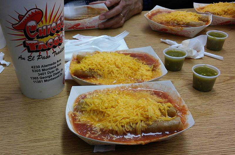 Rolled Tacos, Chico's Tacos