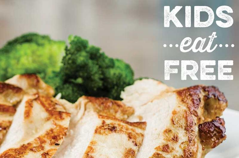 ruby tuesday kids free