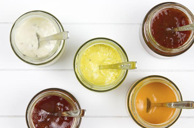 sauce jars