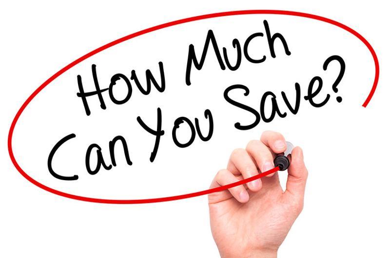 save savings hand writing
