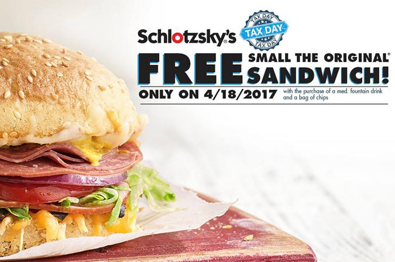 schlotzkys tax break sandwich