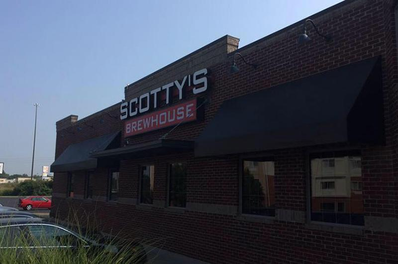scottys brewhouse exterior