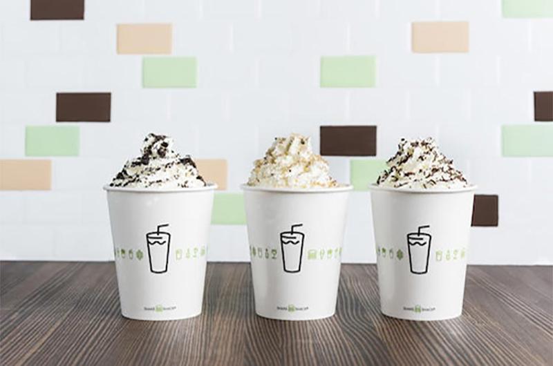 shake shack trio milkshakes