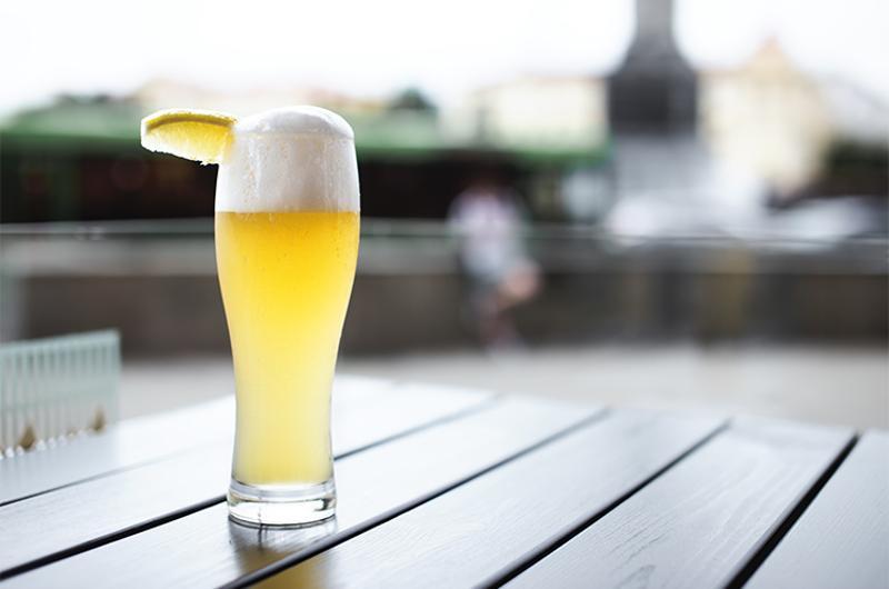 shandy beer lemon