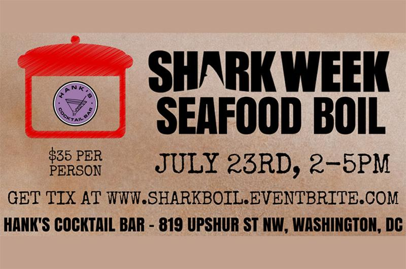 shark week seafood boil