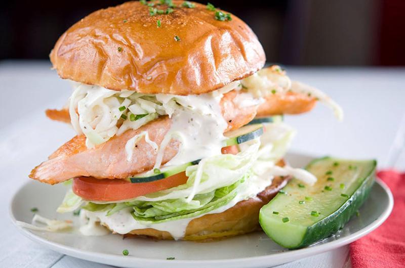slapfish salmon sandwich