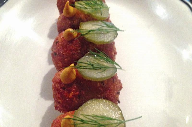 smoked meat croquettes