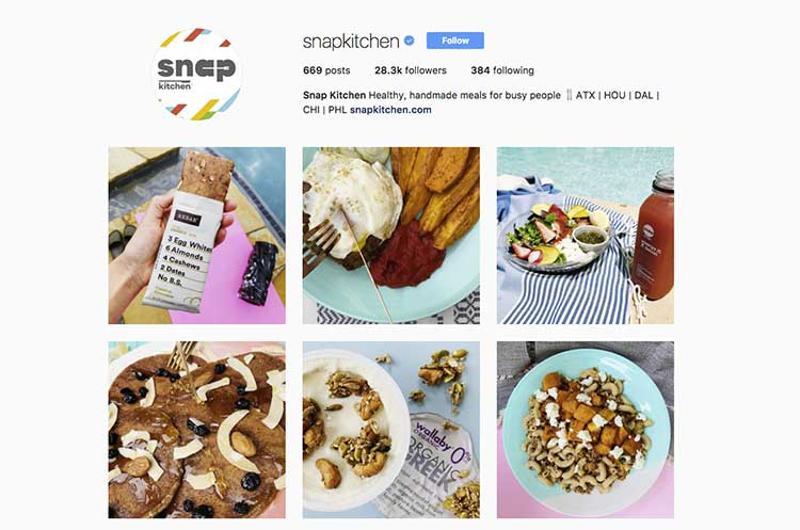 snap kitchen instagram