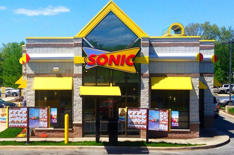 sonic drive in front