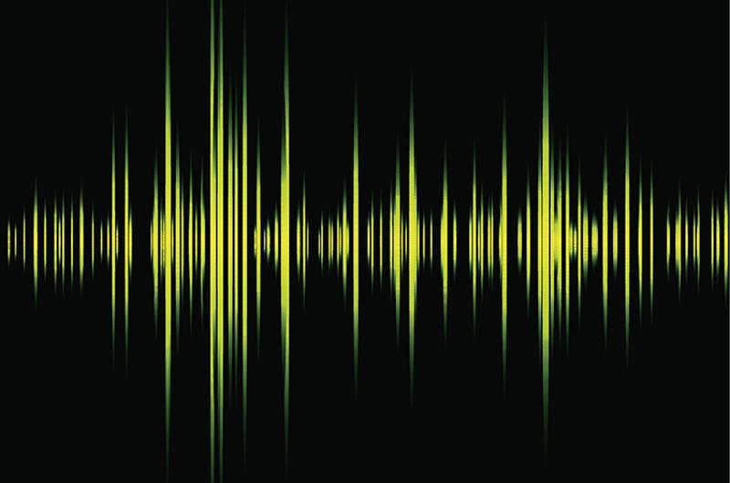sound audio wave