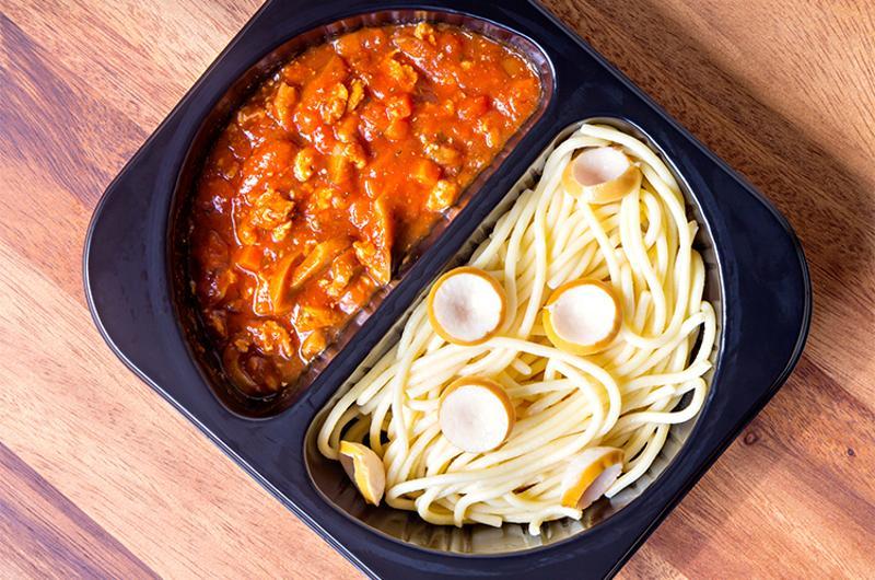 spaghetti red sauce