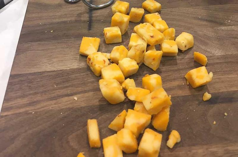 spicy cheese