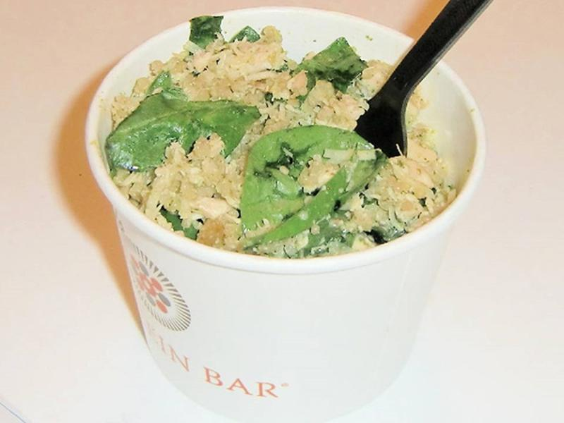 Protein Bar – Spinach And Pesto Bowl