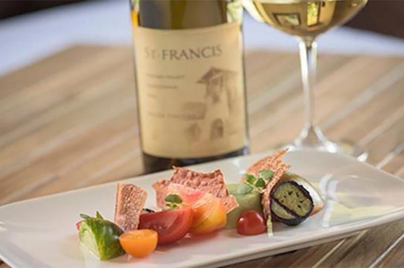 st francis winery food