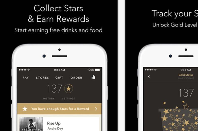 starbucks app screenshot