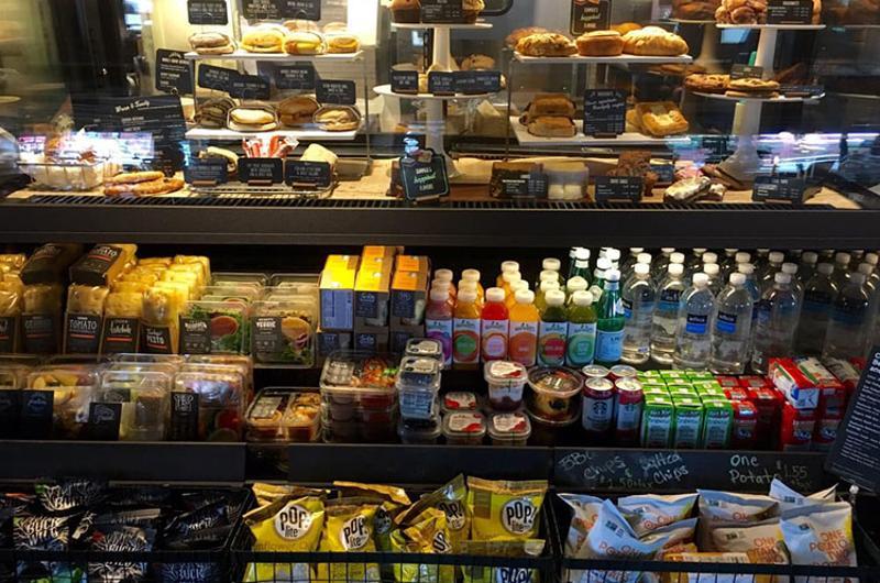 starbucks food counter
