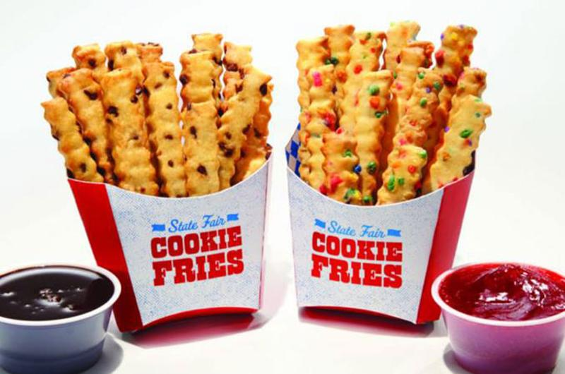state fair treats cookie fries