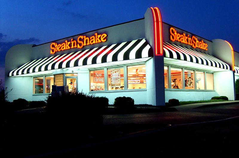 steak n shake exterior