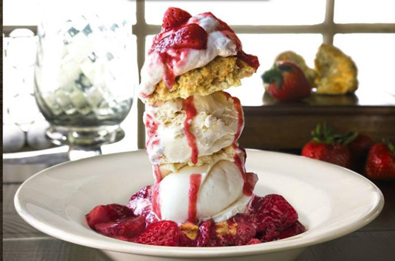 strawberry shortcake stack