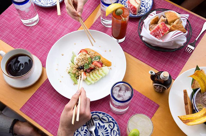 sumo maya mexican asian kitchen food
