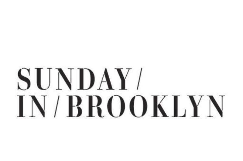 sunday in brooklyn sign