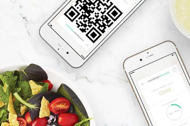 sweetgreen phones qr code