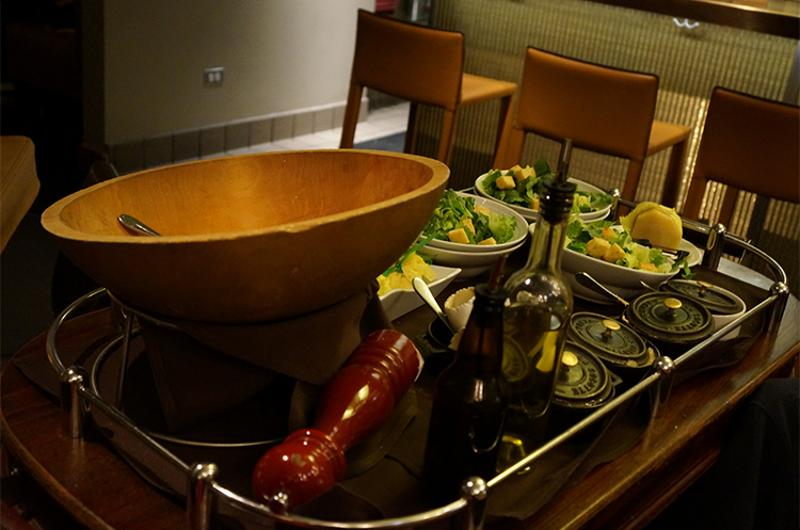 tableside salad cart