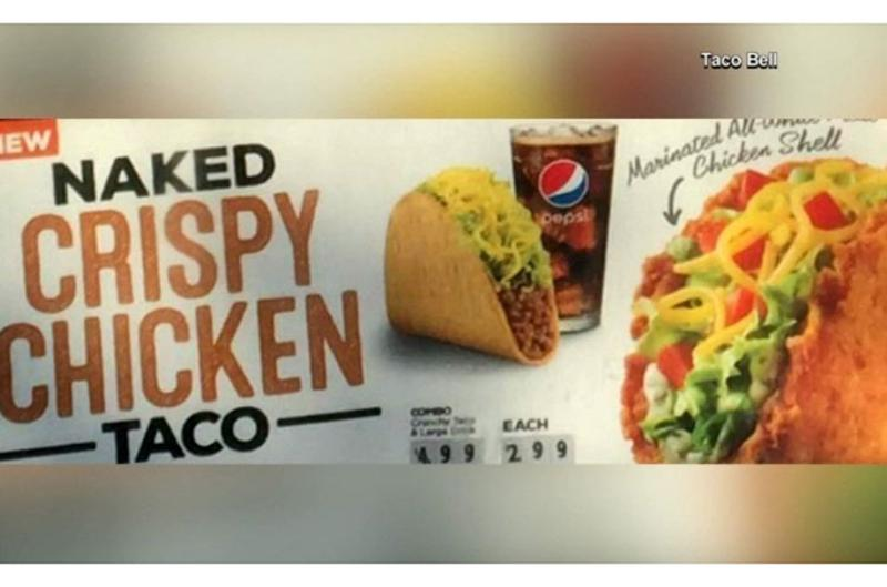 taco bell chicken shell