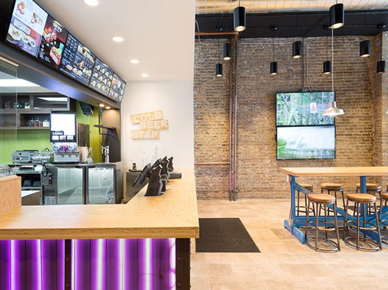 taco bell counter side