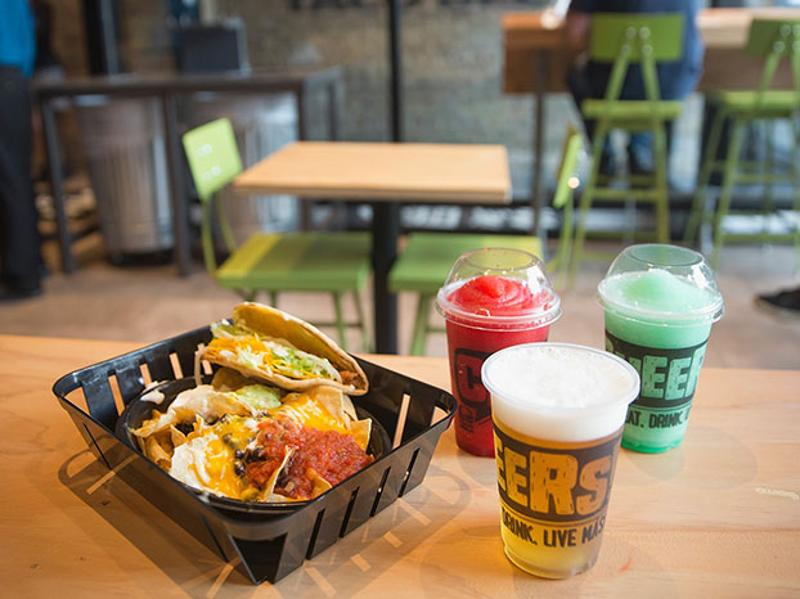 taco bell food alcohol slushies