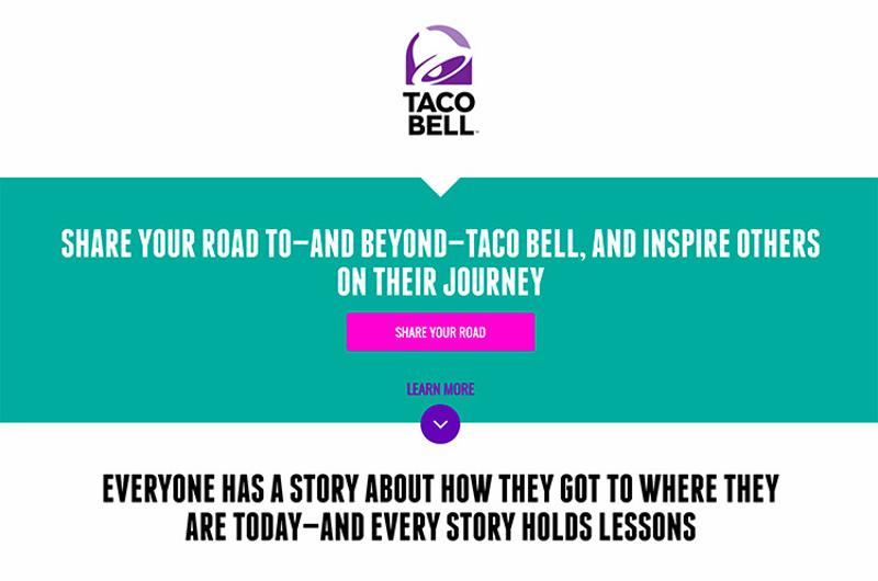 taco bell road trip