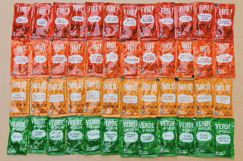 taco bell sauce packets