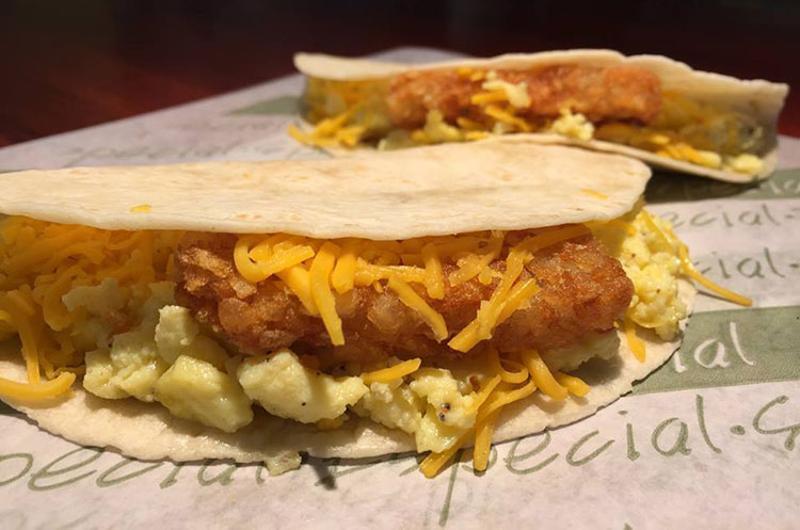 taco bueno breakfast tacos