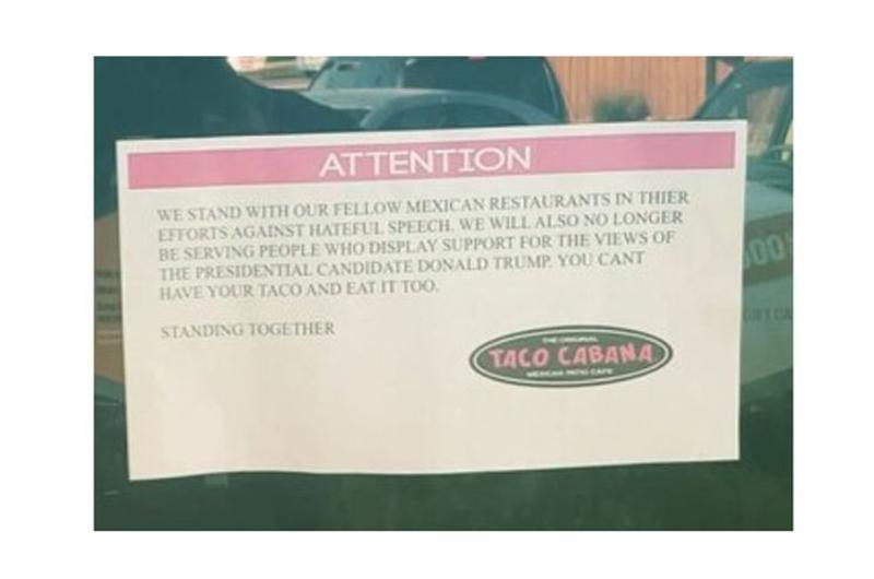 taco cabana sign