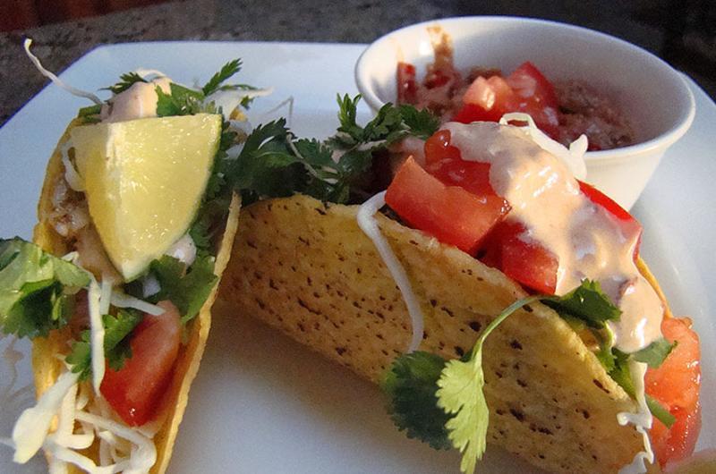 tacos chipotle ranch