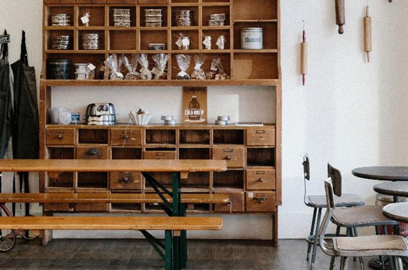 tatte bench cupboard