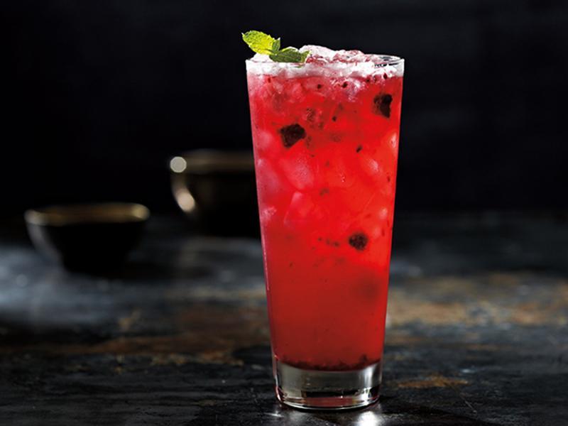 Teavana blackberry mojito lime cooler