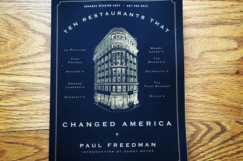 ten restaurants changed america