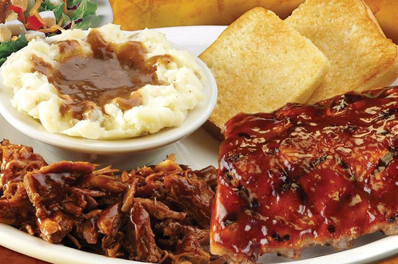 texas roadhouse bbq combo