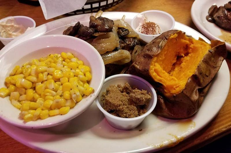 texas roadhouse food