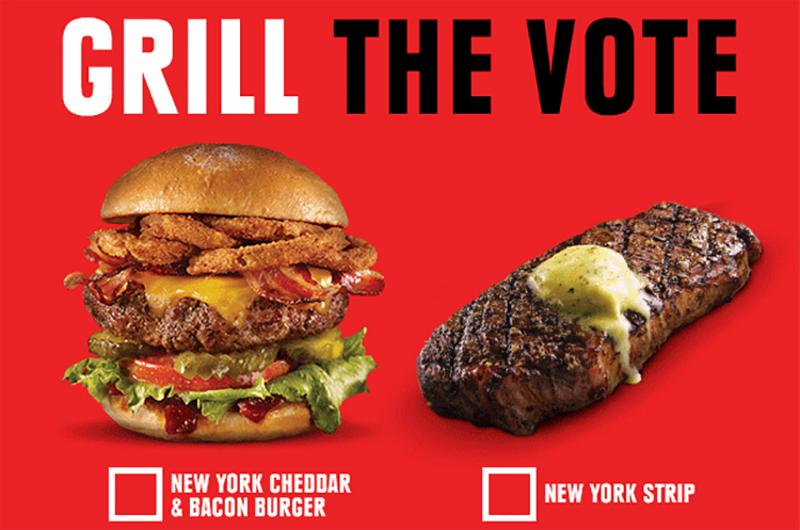 tgi fridays grill vote
