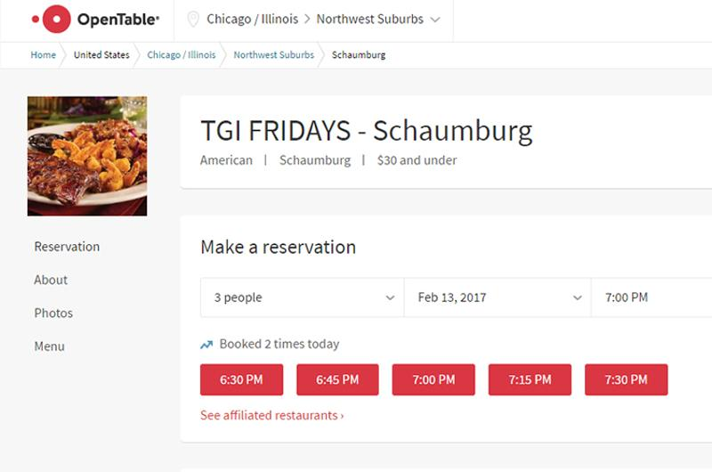 tgi fridays open table