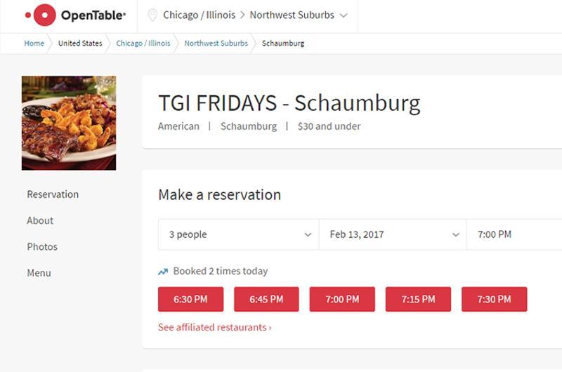 tgi fridays open table