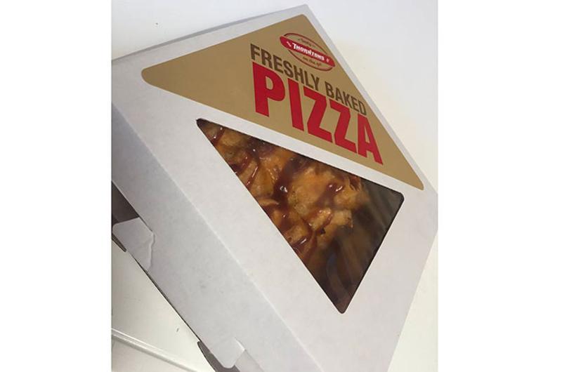 thorntons bbq chicken pizza