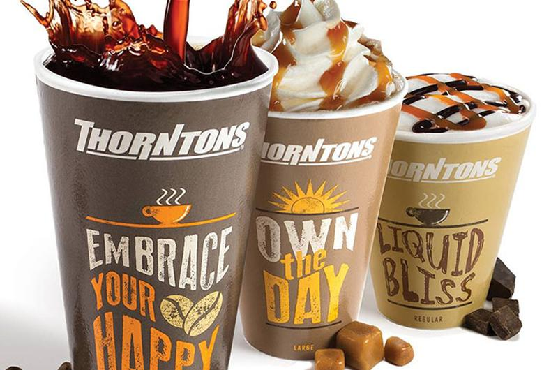 thorntons coffee