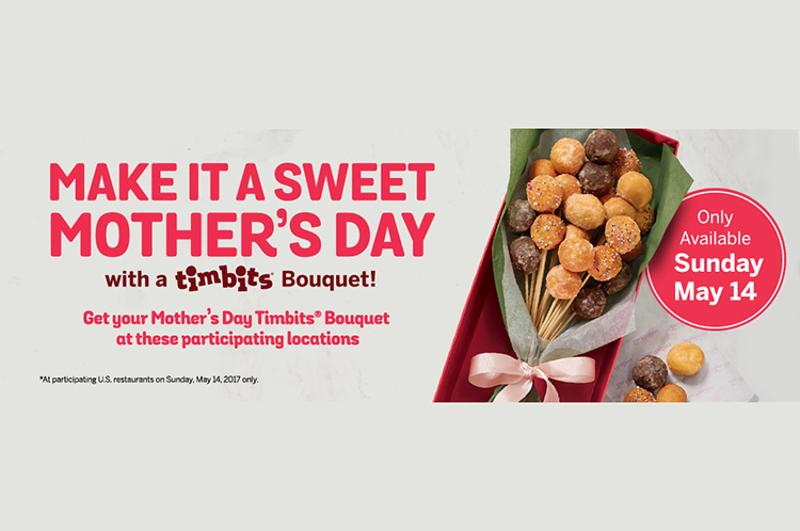 tim hortons mothers day bouquet