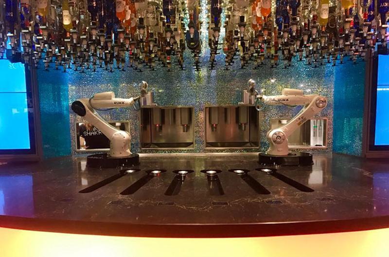 tipsy robot bartenders