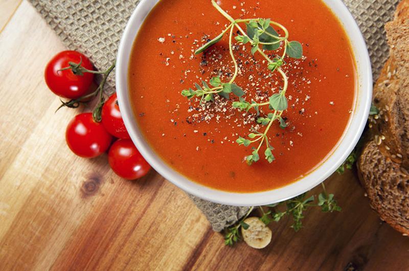 tomato soup herbs