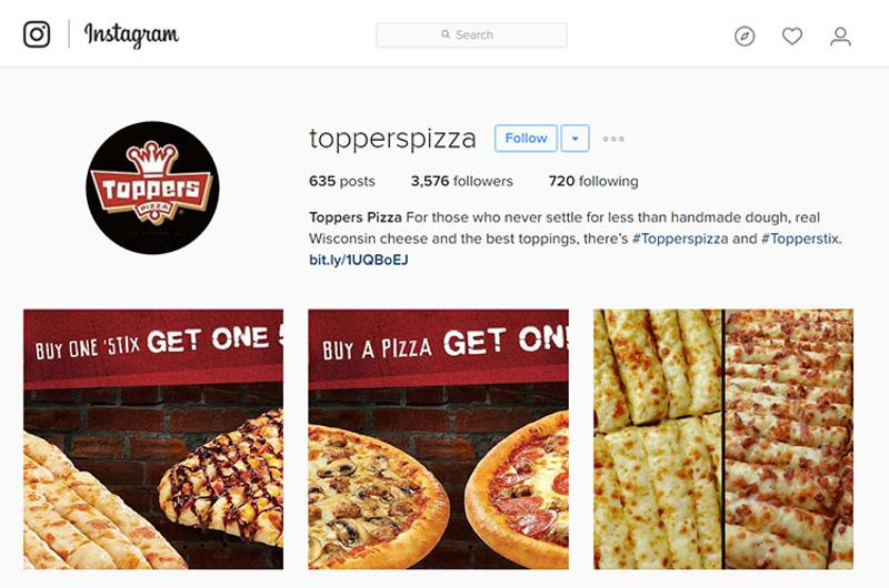 toppers instagram