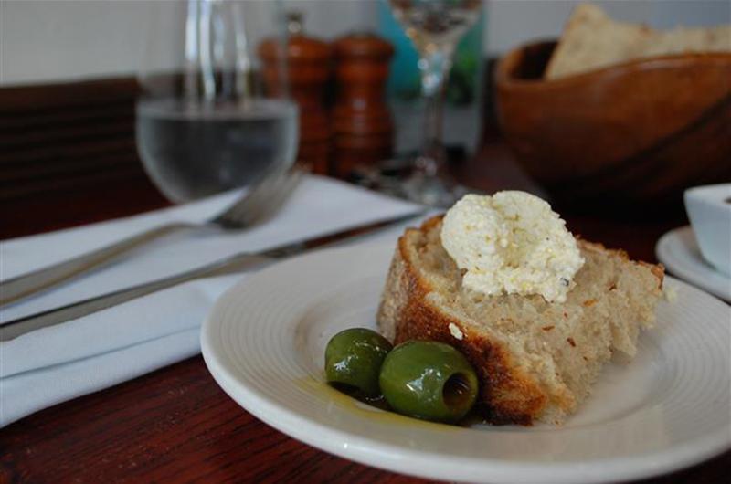 trattoria bread olives